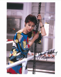 "Janet Fielding ""Tegan"" (Doctor Who) genuine signed autograph 10 x8, 10485"